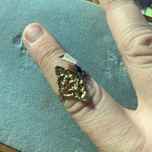 Antique filigree ring sized marked 7